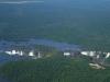 Cataratas del Iguaz, vista aérea