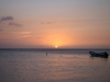 Atardecer en West Bay, Roatan