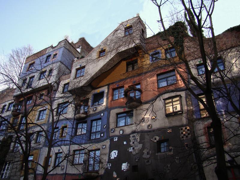Viena, Hundertwasserhaus