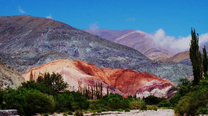 Argentina , Salta, Cerro de los 7 colores