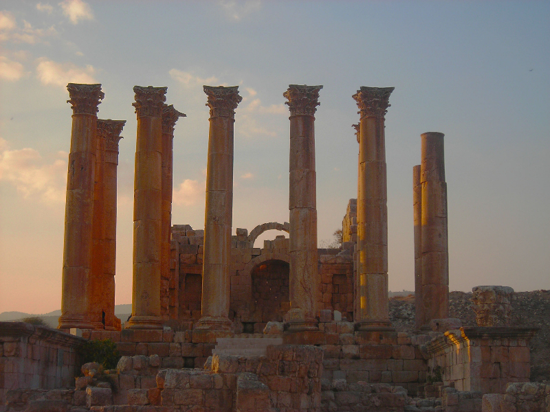 Jordania, Jerash