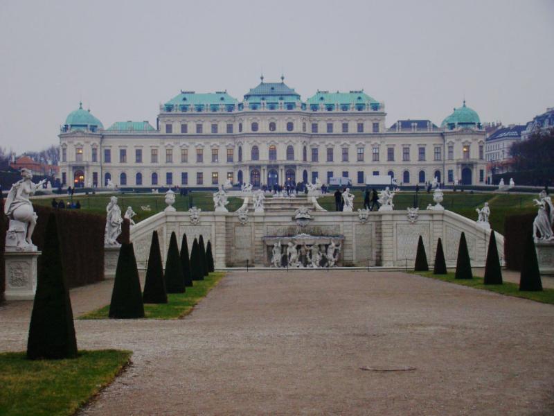 Austria, Viena, Palacio Belvedere