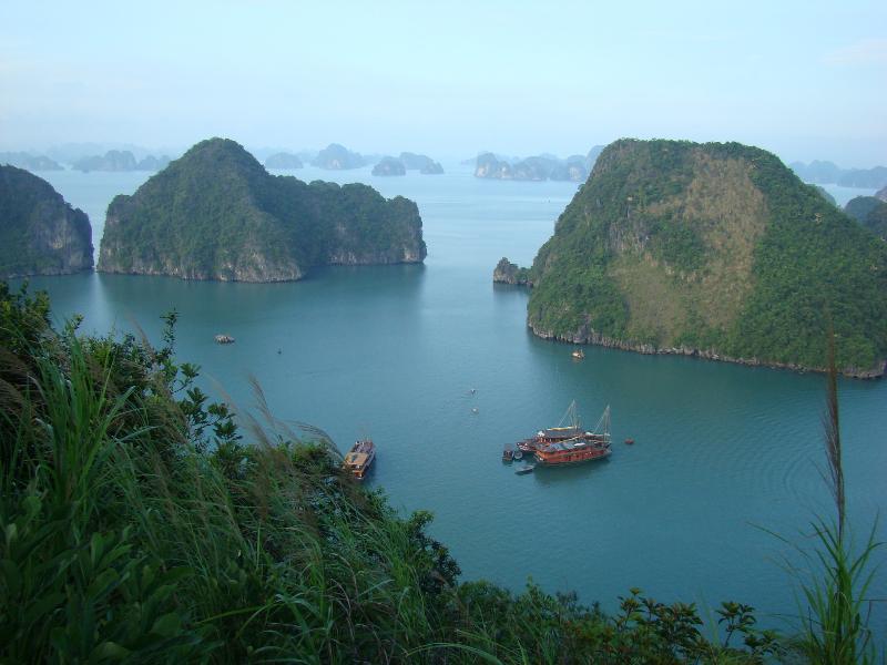 Vietnam, Bahia Halong