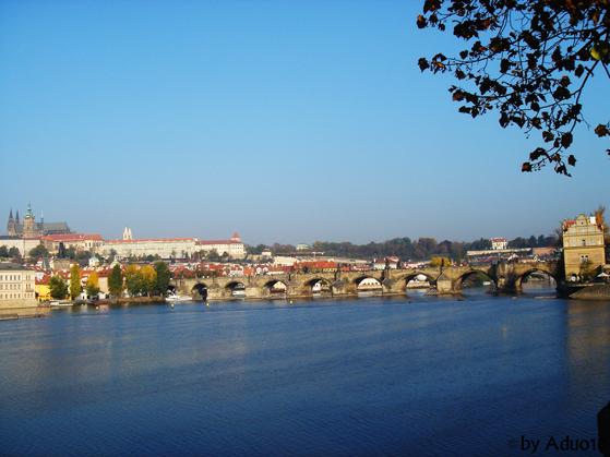 Europa, Praga desde Madrid