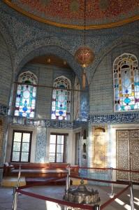 Decoracion interior del Palacio de Topkapi