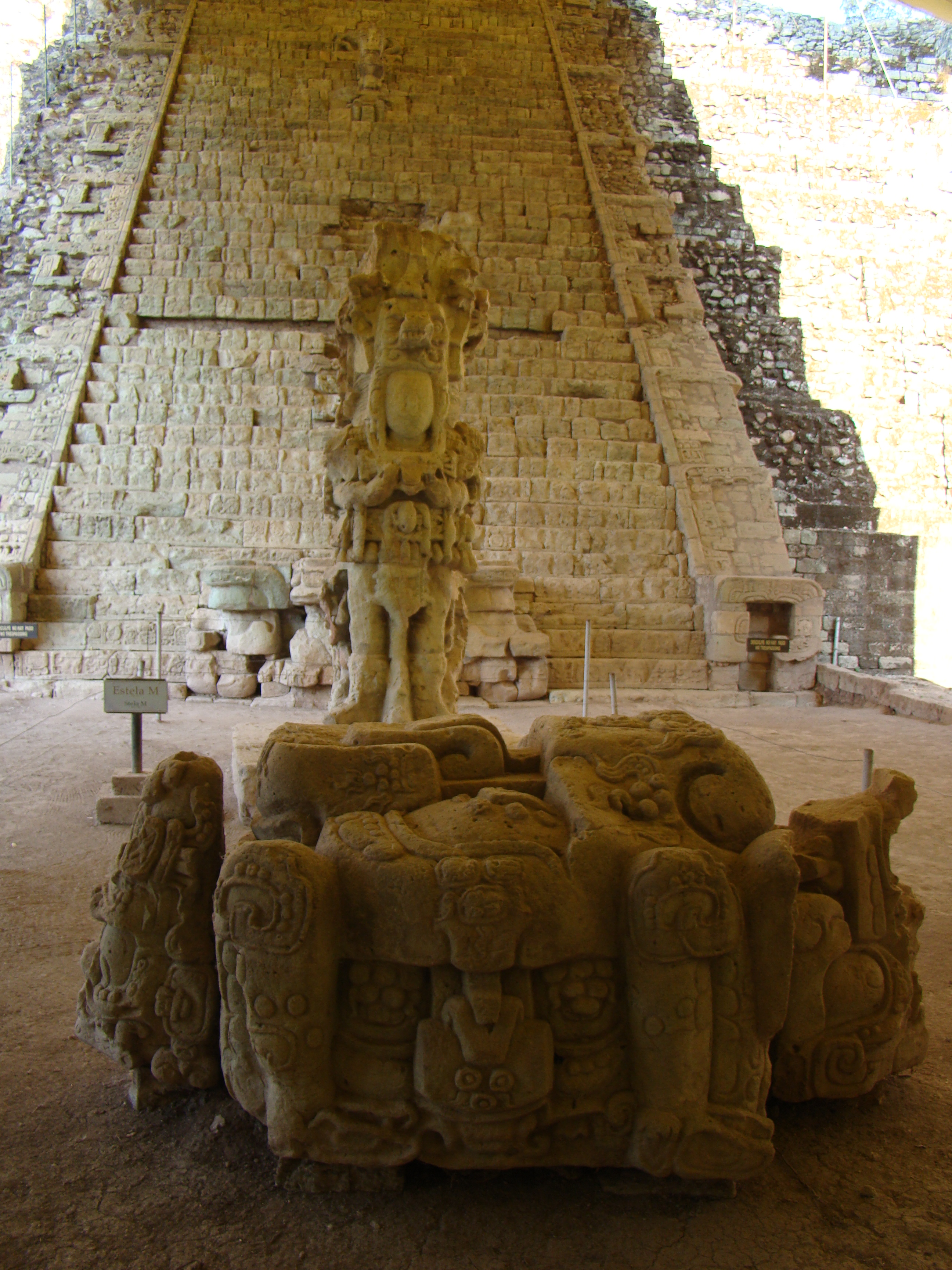 Escalinata Jeroglifica