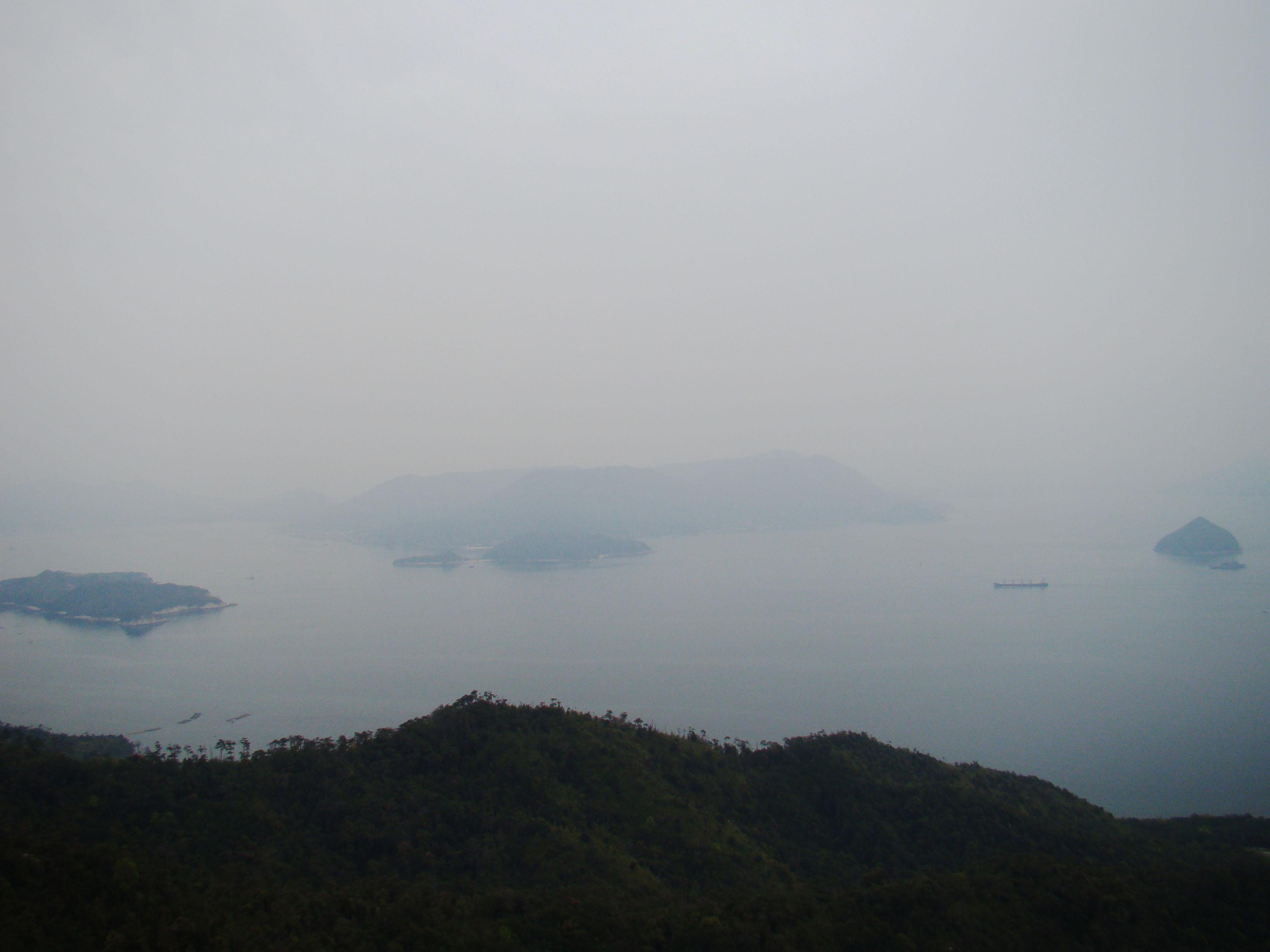Vista desde el Monte Misen